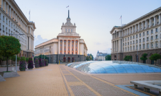 Sofia, Bulgaria Largo Building (seat of the National Assembly) by tichr / Getty Images