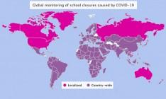 School closures worldwide