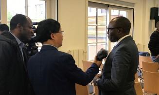 Minister Kakpo of Benin